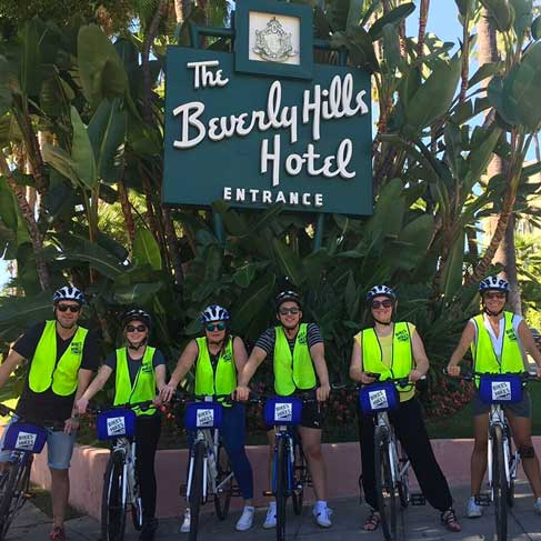 Hollywood Celebrity Home Bike Tour